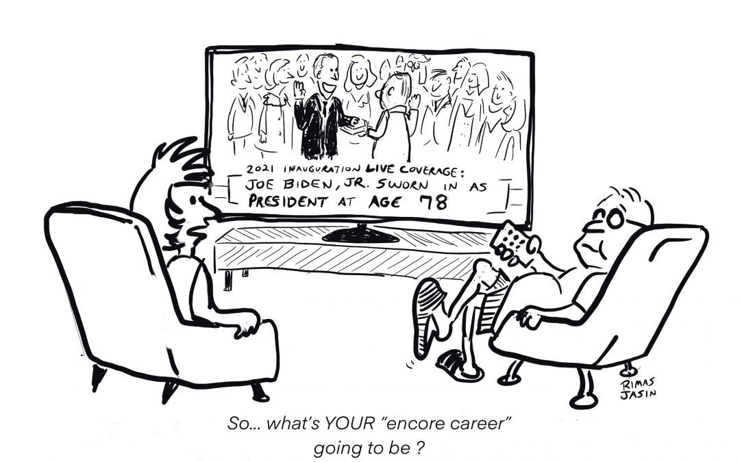 What's Your Encore Career Going to Be?